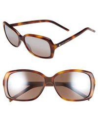 Marc By Marc Jacobs | Marc Jacobs 57mm Sunglasses - Havana | Lyst