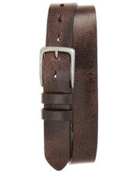 Torino Leather Company - Antiqued Polished Harness Leather Belt - Lyst