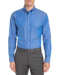 Nordstrom - Trim Fit Non-iron Dress Shirt - Lyst