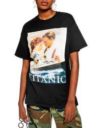 TOPSHOP - Titanic Poster Tee - Lyst