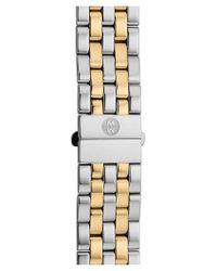 Michele - Urban Mini 16mm Two-tone Bracelet Watchband - Lyst