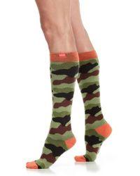 VIM & VIGR - Camouflage Compression Trouser Socks - Lyst