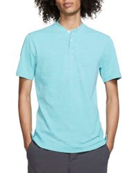 244b5c675807e Nike Tw Zonal Cooling Fade Blade Men's Standard Fit Golf Polo Shirt in Blue  for Men - Lyst