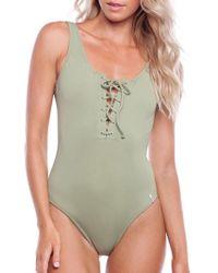 Rhythm - Sunchaser One-piece Swimsuit - Lyst