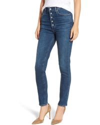 Citizens of Humanity - Olivia High Waist Slim Jeans - Lyst