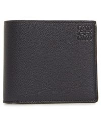 Loewe - Calfskin Leather Bifold Wallet - Lyst