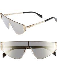 Moschino - 132mm Shield Sunglasses - Lyst
