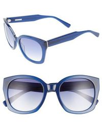 Derek Lam - Sadie 54mm Sunglasses - Ink - Lyst
