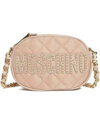 Moschino - Small Quilted Camera Bag - - Lyst