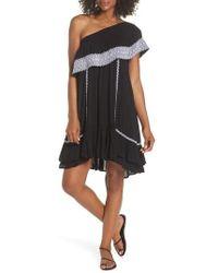 Muche Et Muchette - Gavin One-shoulder Cover-up Dress - Lyst
