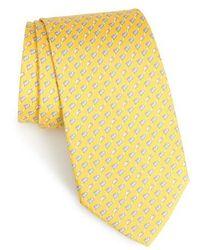 Ferragamo - Mouse Print Silk Tie - Lyst