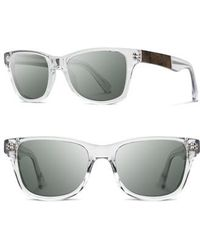 Shwood - 'canby' 53mm Polarized Sunglasses - Lyst