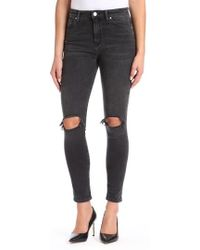 Mavi Jeans - Lucy Ripped Super Skinny Jeans - Lyst
