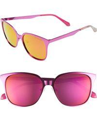 Lilly Pulitzer - Lilly Pulitzer Landon 54mm Polarized Sunglasses - Lyst