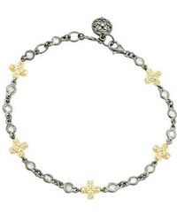 Freida Rothman | Cross Line Bracelet | Lyst