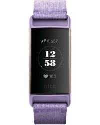 Fitbit - Charge 3 Special Edition Wireless Activity & Heart Rate Tracker - Lyst