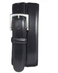 Bosca - Calfskin Leather Belt - Lyst