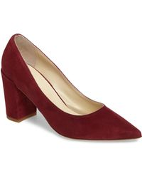 Butter Shoes - Butter Kay Block Heel Pump - Lyst
