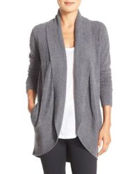 Barefoot Dreams - Barefoot Dreams Cozychic Lite Circle Cardigan - Lyst