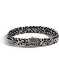 John Hardy - Large Flat Classic Chain Bracelet - Lyst