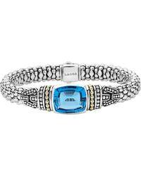 Lagos - 'caviar Color' Semiprecious Stone Bracelet - Lyst
