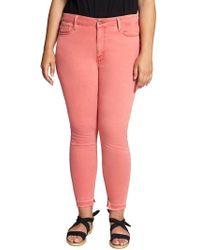 Sanctuary - Saige Release Hem Curvy Fit Skinny Jeans - Lyst