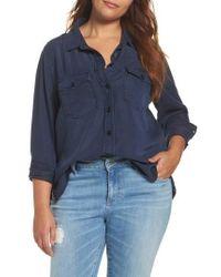 REBEL WILSON X ANGELS   Soft Woven Army Shirt   Lyst