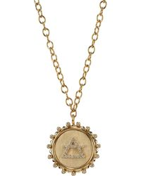 Marlo Laz - In The Air Element Pendant Necklace - Lyst