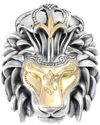 Konstantino - 'minos' Lion Head Pendant - Lyst