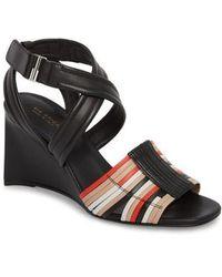 Via Spiga | Robyn Ii Wedge Sandal | Lyst