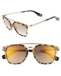 Marc Jacobs - Basic 51mm Aviator Sunglasses - Dark Havana - Lyst