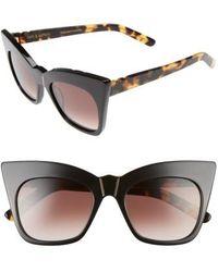 Pared Eyewear - Kohl & Kaftans 52mm Cat Eye Sunglasses - Lyst