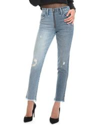 PRPS | Chevelle Ankle Skinny Jeans | Lyst