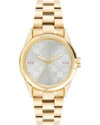 ce1c66b116a5 Lyst - Michael Kors Women s Chronograph Parker Rose Gold-tone ...