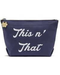 Draper James - This 'n That Canvas Pouch - Lyst