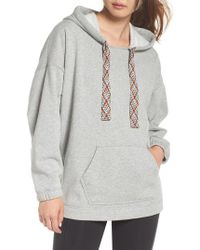 Free People - Free People Chill Out Hoodie - Lyst