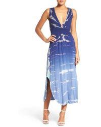 Fraiche By J   Plunge Dress   Lyst