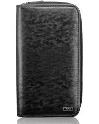 Tumi - Zip-around Leather Travel Wallet - - Lyst