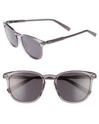Ferragamo - Double Gancio 53mm Sunglasses - Smoke - Lyst