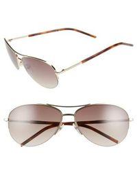 Marc Jacobs - 59mm Semi Rimless Sunglasses - Lyst