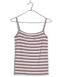 Madewell - Square Neck Tank - Lyst