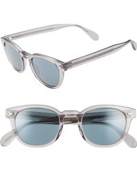 fb9ce16c99fe Oliver Peoples - Sheldrake 47mm Sunglasses - - Lyst