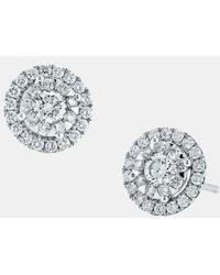 Kwiat | 'sunburst' Diamond Stud Earrings | Lyst