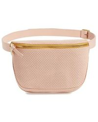 Clare V. - Perforated Leather Fanny Pack - - Lyst