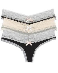 Honeydew Intimates - 3-pack Lace Thong - Lyst