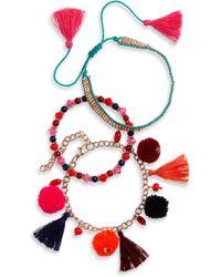 Panacea - Set Of 3 Bracelets - Lyst