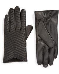Mackage - Cano Lambskin Leather Tech Gloves - Lyst