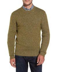 David Donahue - Tweed Crewneck Sweater - Lyst