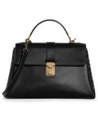 Bottega Veneta - Medium Piazza Top Handle Bag - Lyst