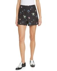 bf85903b5a7d Lyst - Ted Baker Canvas Shorts In Tropical Toucan Print